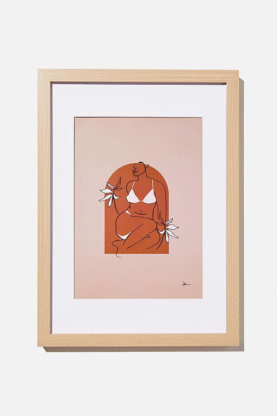 A4 Framed Print, BODY ARCH