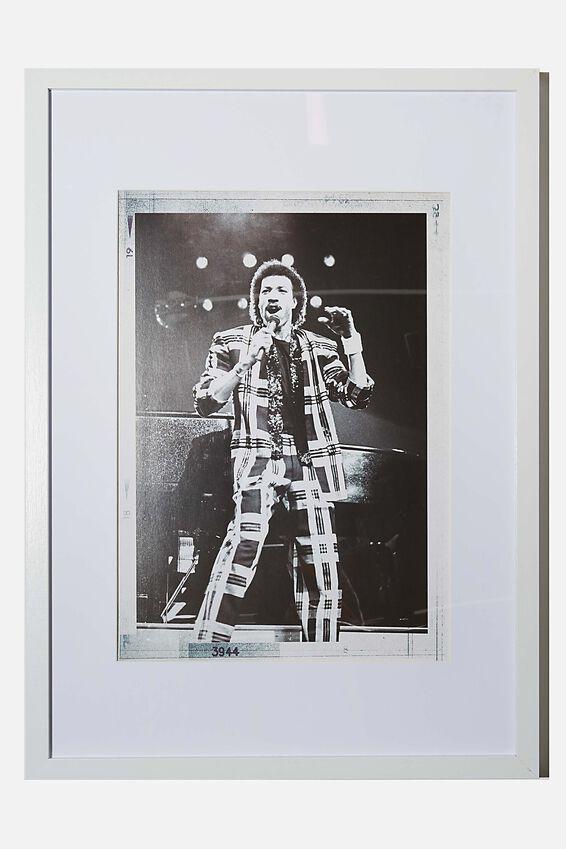 A3 Framed Print, LCN ICO JANET MACOSKA SINGER