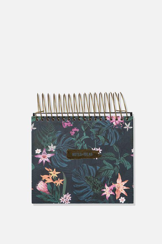 Big Ideas Notepad, JUNGLE FLORAL
