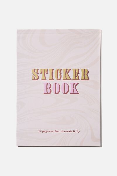 Sticker Book, PINK