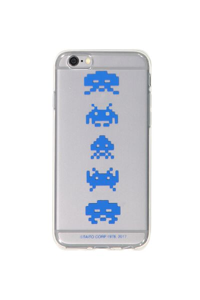 Transparent Phone Cover 6, LCN SPACE INVADERS
