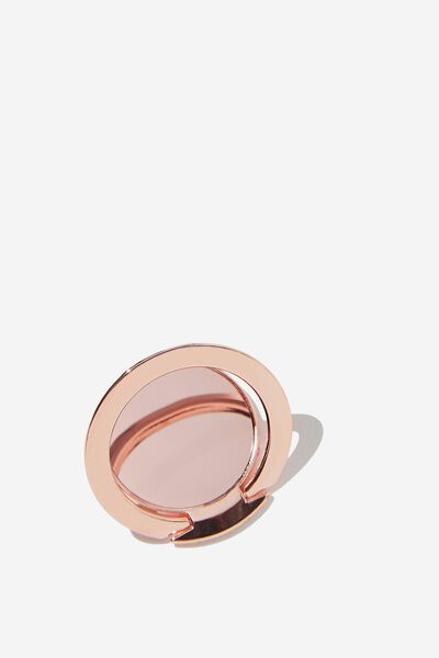 Ultra Thin Phone Ring, ROSE GOLD