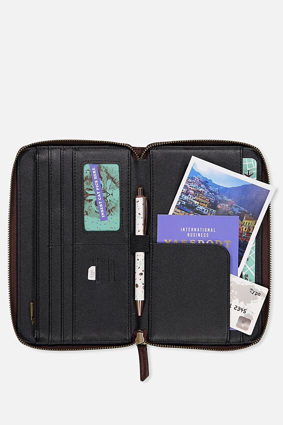Odyssey Travel Compendium, RICH TAN