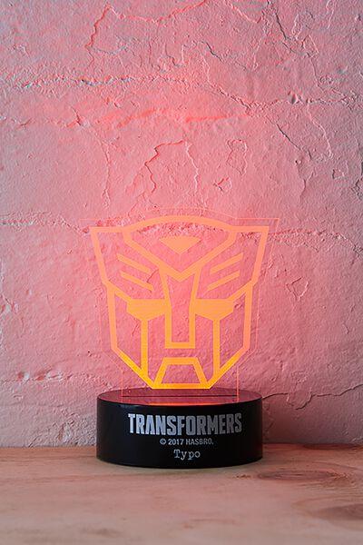 Acrylic Light, LCN TRANSFORMERS AUTOBOT
