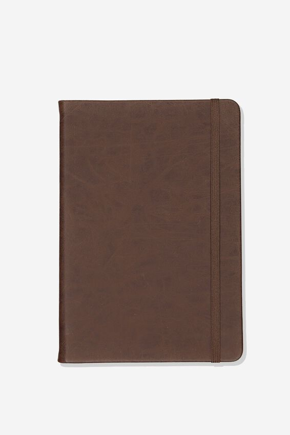A5 Blank Buffalo Journal, RICH TAN