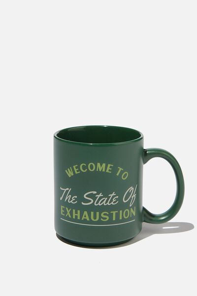Daily Mug, STATE OF EXHAUSTION
