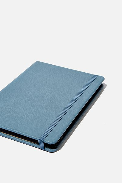 "A5 Dot Buffalo Journal (8.27"" x 5.83""), PETROL BLUE"