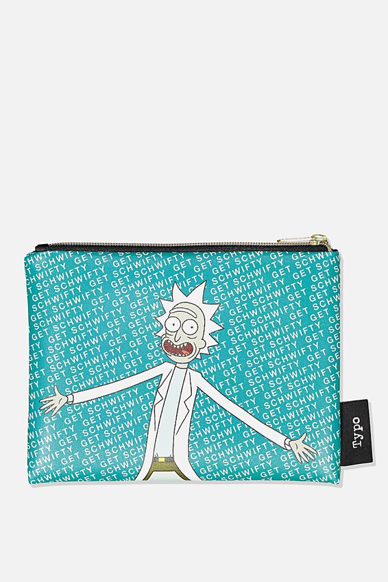 Rick & Morty Pu Campus Pencil Case, LCN CNW RM RICK