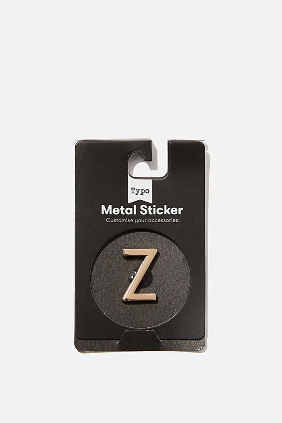 Metal Stickers, ROSE GOLD Z