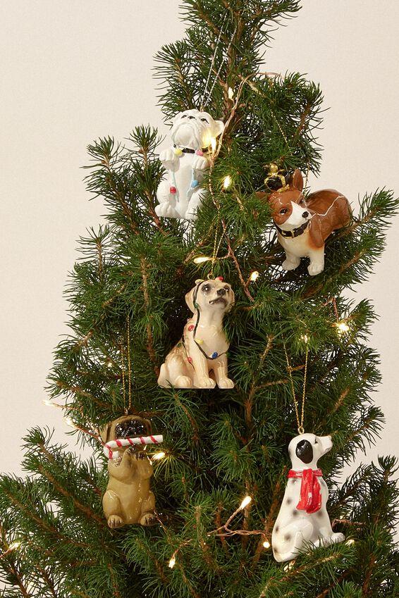 Resin Christmas Ornament, DALMATIAN