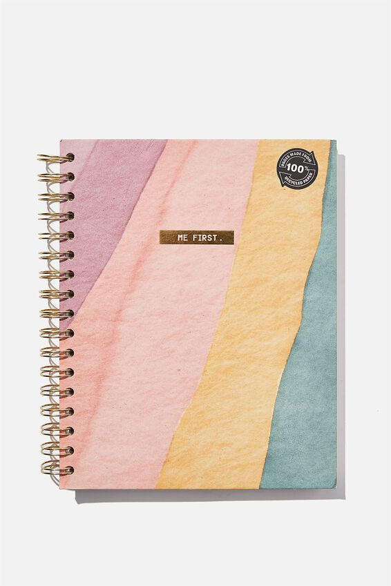 Ultimate Spiral Notebook, ME FIRST