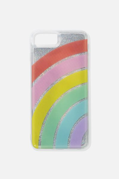 Shake It Phone Case 6, 7, 8 Plus, RAINBOW
