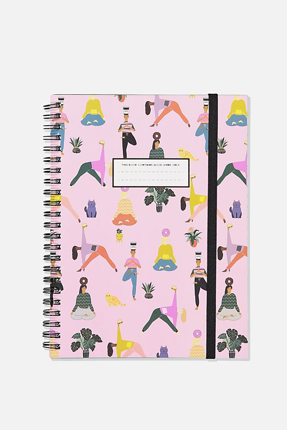 Small Spinout Notebook, YOGA