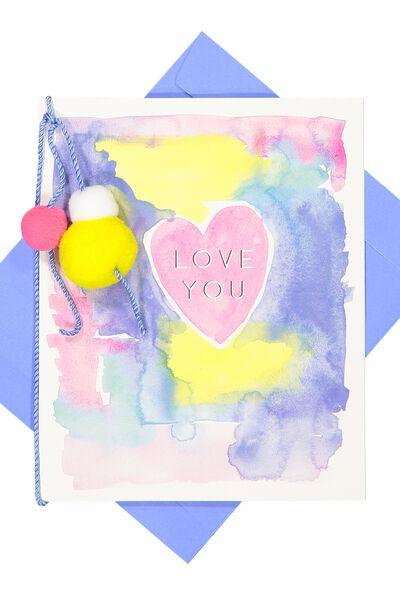 Premium Love Card, ARTIST SERIES LOVE YOU