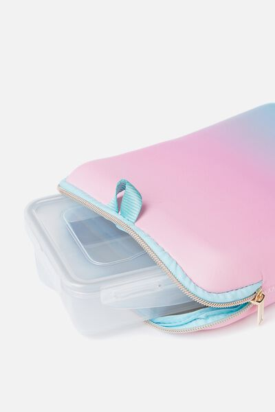 Insulated Sleeve Lunch Container, OMBRE