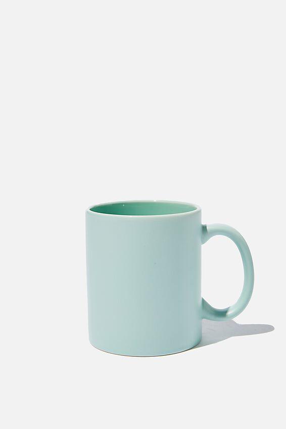 Anytime Mug, MATTE SOFT MOSS