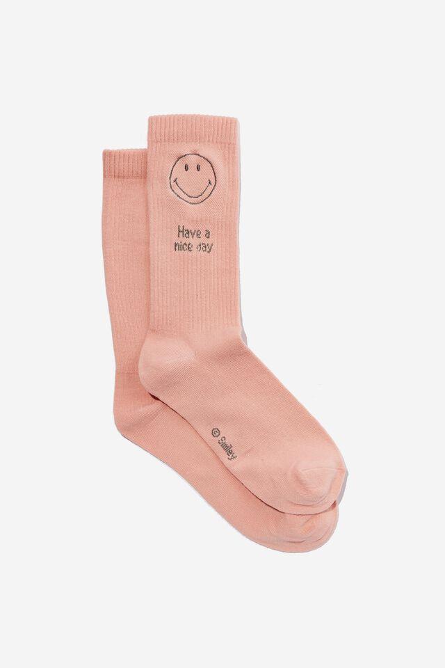 Smiley Socks, LCN SMI SMILEY NUDIE
