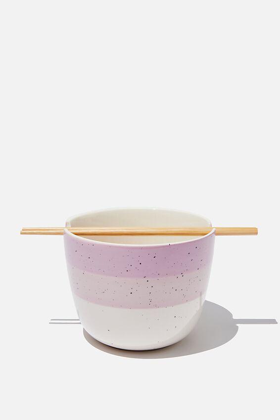 Noodle Bowl, HEATHER SPLATTER