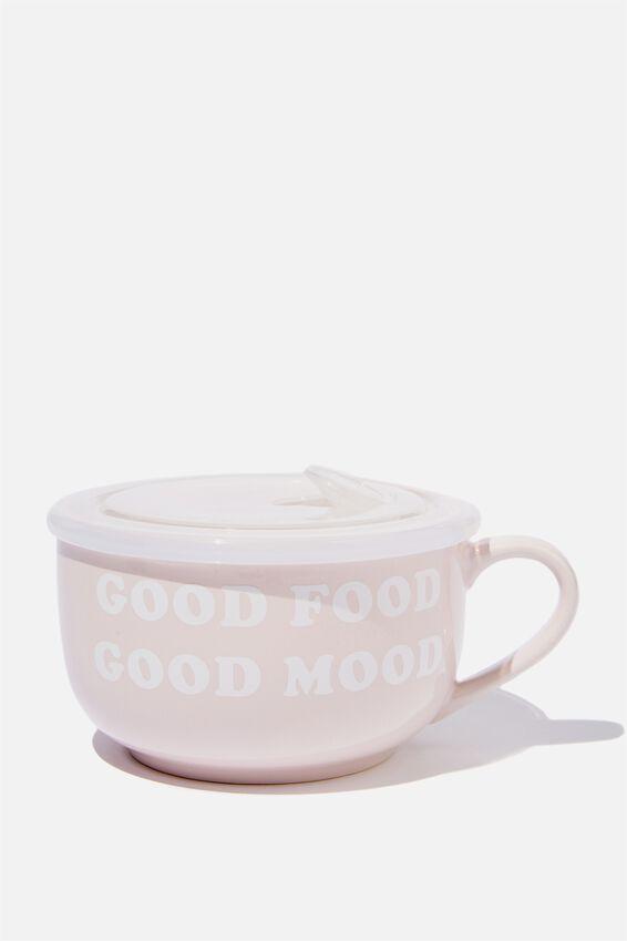 Big Mug Bowl, GOOD FOOD GOOD MOOD