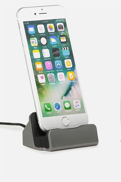 Phone Docking Station, BLACK