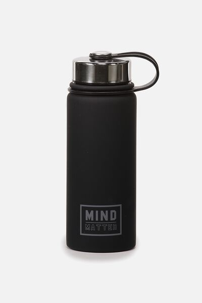 The Striker Metal Drink Bottle, MIND OVER MATTER