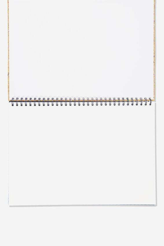 A3 Premium Sketch Book, CORK
