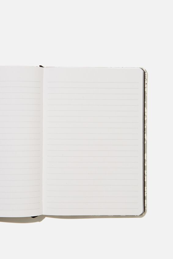 "A5 Buffalo Journal (5.8"" x 8.2""), PR CHERRY BLOSSOM COOL GREY"