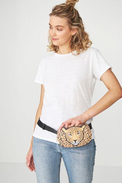 Belt Bag, NOVELTY LEOPARD
