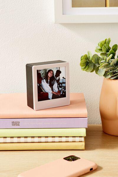 Mini Light Box Photo Frame, HEATHER