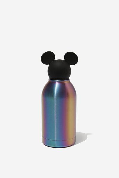 Premium Metal Drink Bottle 350Ml, LCN DIS MICKEY OIL SLICK
