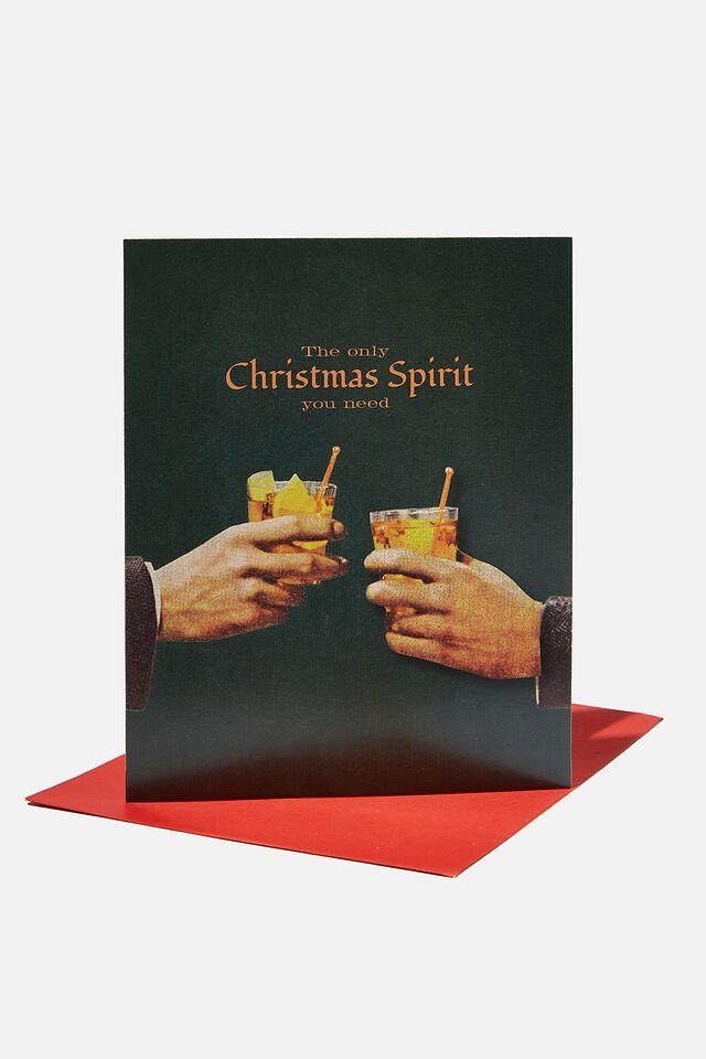 Christmas Card 2021, SCENTED CHRISTMAS SPIRIT!