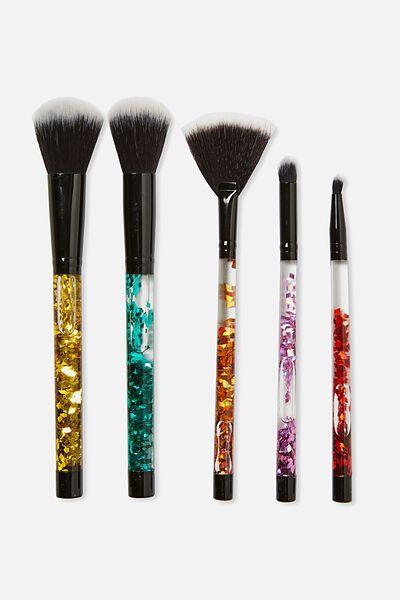 Makeup Brush Set, GLITTER