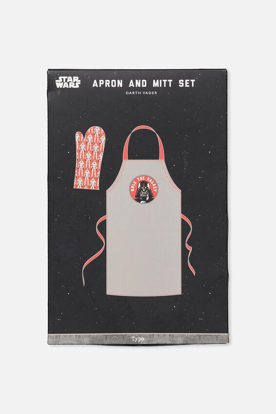 Star Wars Apron & Mitt, LCN DARTH VADER