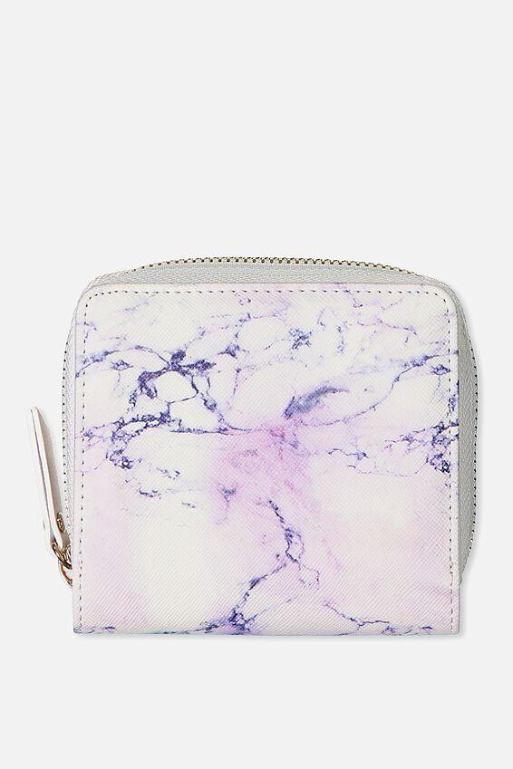 Mini Wallet, LUSH MARBLE