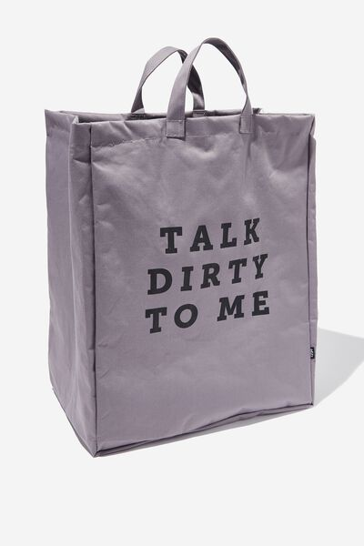 Laundry Bag, TALK DIRTY TO ME