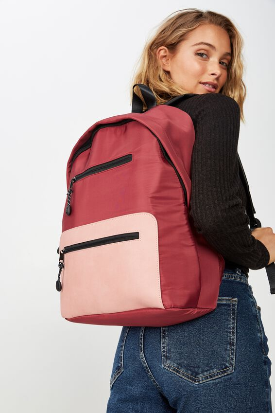 Utility Backpack, MULTI PINKS