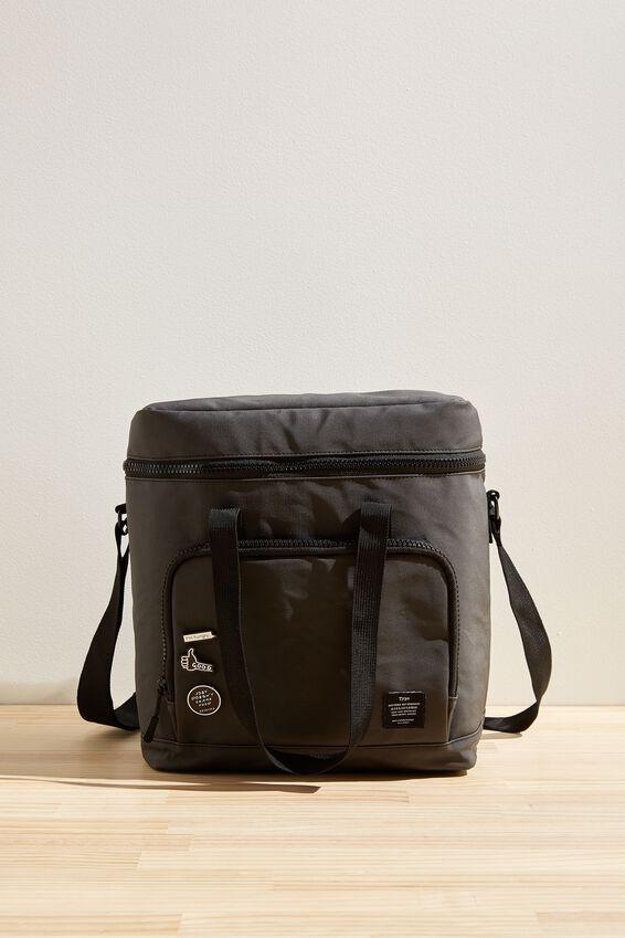 Day For It Cooler Bag, BLACK