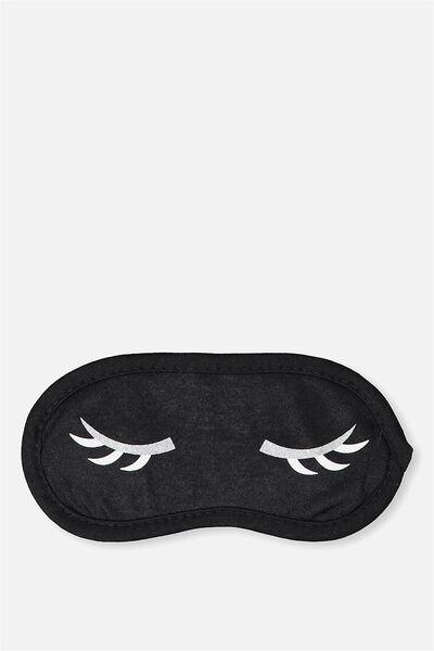 Easy On The Eye Sleep Mask, BAT YOUR LASHES