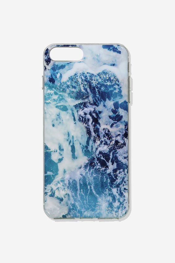 Printed Phone Cover 6,7,8 Plus, WATER PRINT