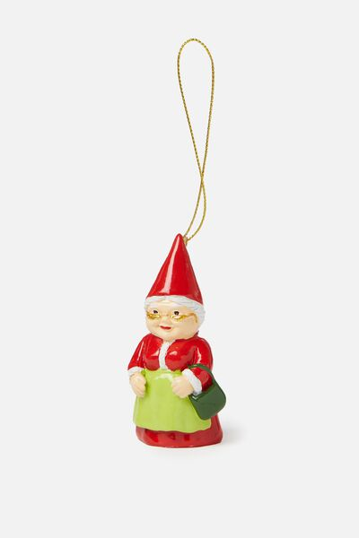 Christmas Ornament, MRS CLAUS GNOME