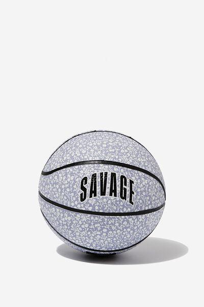 Mini Basketball Size 1, SAVAGE LILAC DITSY