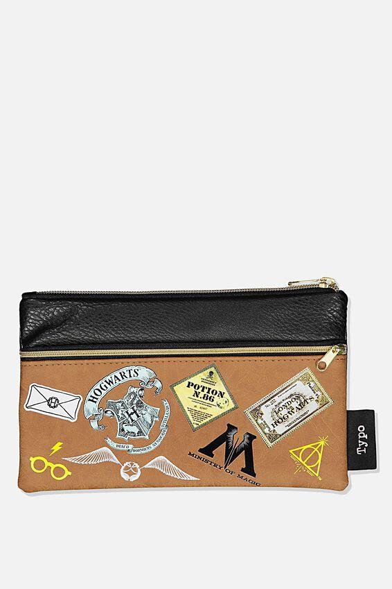 Harry Potter Archer Pencil Case, LCN WB HPO PATCHES