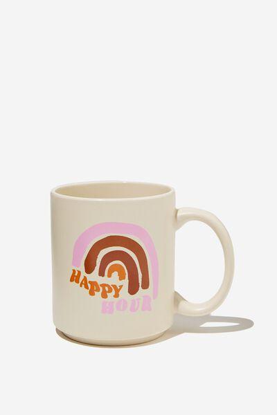 Daily Mug, HAPPY HOUR RAINBOW