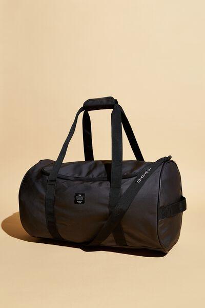 Explorer Duffle Bag Personalised, BLACK