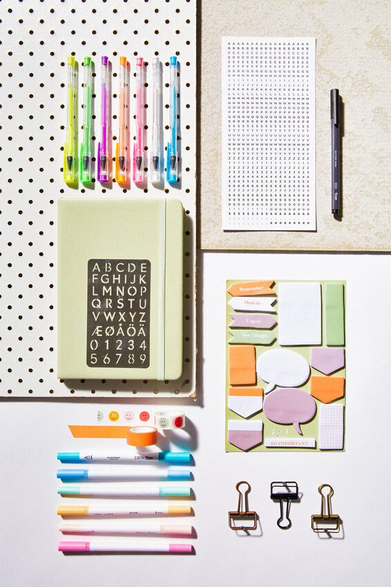 Pro Dot Journaler Kit 1, bundle 1