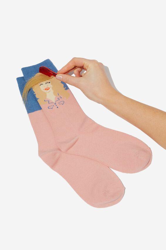 Premium Womens Novelty Socks, PAR COUNTRY GIRL