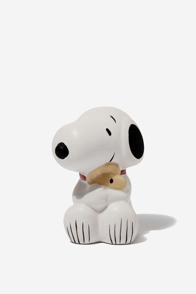 Snoopy Pen Holder, LCN PEA SNOOPY & WOODSTOCK