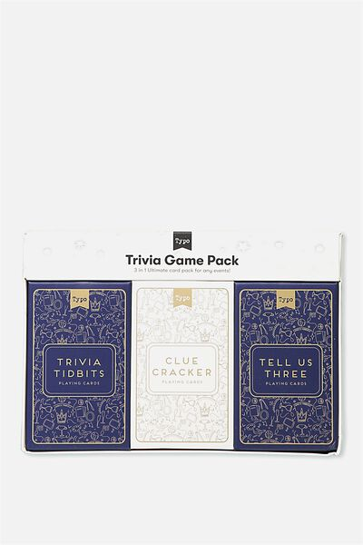 Specialty Party Card Game, TRIVIA TITBITS