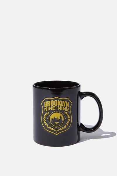 Anytime Mug, LCN UNI BR BROOKLYN BADGE