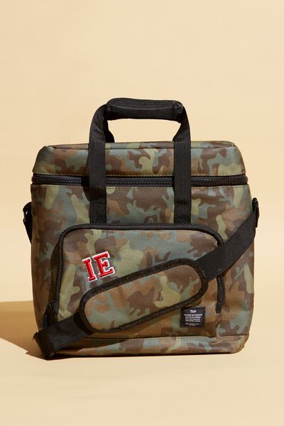 Day For It Cooler Bag Personalised, CAMO